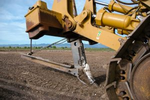 Deep Ripping Shank on Caterpillar