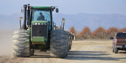 A&L Services, Inc. Tractor and Scraper